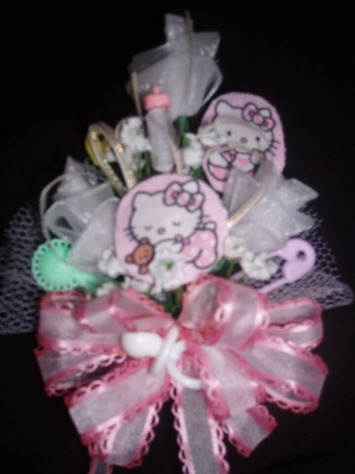 baby shower corsages